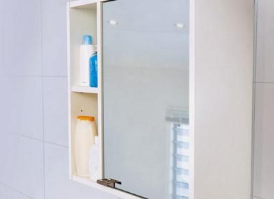Szafka łazienkowa z lustrem z Biedronki