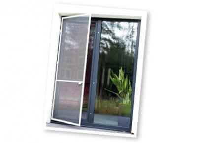 Aluminiowa moskitiera na drzwi z Biedronki