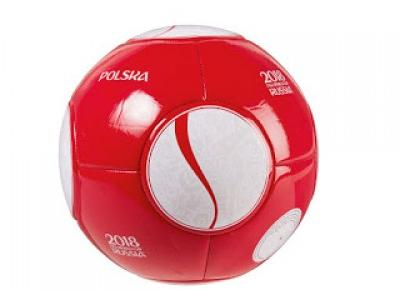 Piłka nożna z licencją Polska 2018 FWA World Cup Russia z Lidla