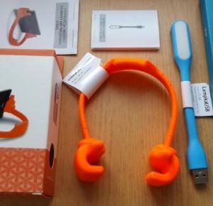 Test: Lampka USB, chwytak, podkładka pod mysz z Biedronki