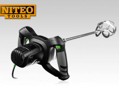 Elektryczne mieszadło do zaprawy Niteo Tools 1200 W z Biedronki
