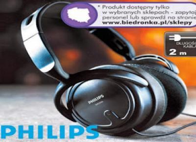 Słuchawki SHP 2000 Philips z Biedronki