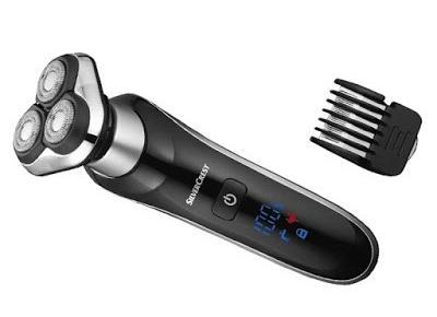 Co w Lidlu: Rotacyjna maszynka do golenia Silvercrest z Lidla