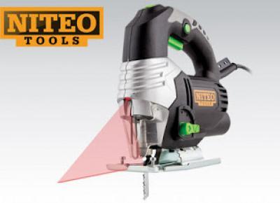 Wyrzynarka z laserem Niteo Tools z Biedronki