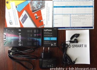 Test: Smartphone myPhone Q-Smart II z Biedronki