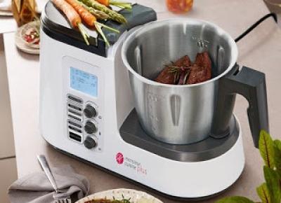 Co w Lidlu: Wielofunkcyjne urządzenie Silvercrest Monsieur Cuisine Plus z Lidla