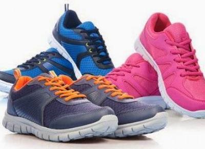 Testujemy produkty z Biedronki: Sportowe buty z Biedronki - test Martyny