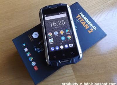 Test: myPhone Hammer Titan 2 z Biedronki
