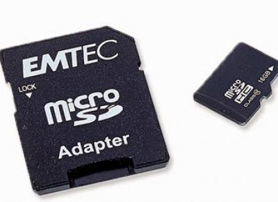 Karta pamięci Emtec Micro SDHC 16 GB z Biedronki