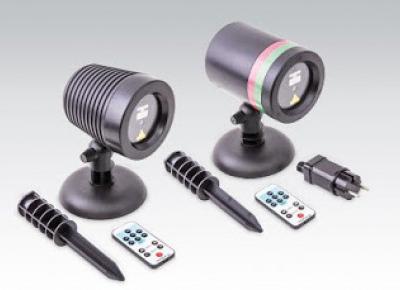 Projektor laserowy zewnętrzny z Biedronki