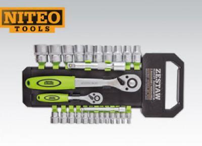 Zestaw kluczy nasadkowych Niteo Tools z Biedronki