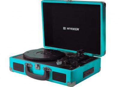 Gramofon Hykker Vintage Studio z Biedronki