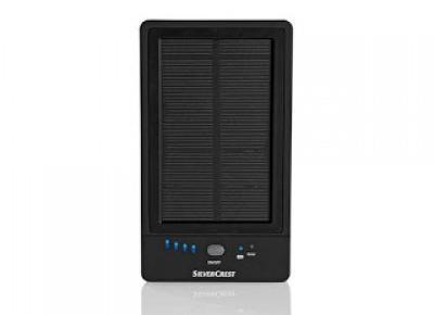 Co w Lidlu: Powerbank 5000 mAh z funkcją ładowania solarnego Silvercrest z Lidla