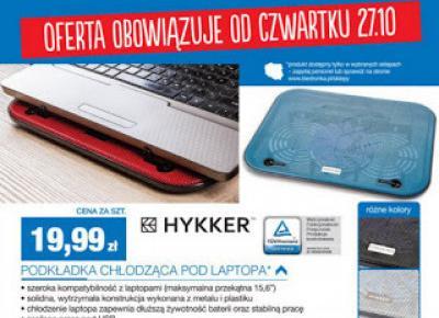 Cooler Pad podkładka chłodząca Hykker z Biedronki