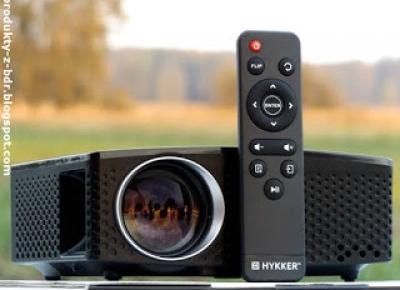Projektor multimedialny Hykker Vision 180 z Biedronki