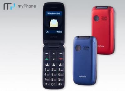 Telefon myPhone Flip II z Biedronki