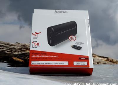 Powerbank Hama X7 Power Pack 7800 mAh z Biedronki
