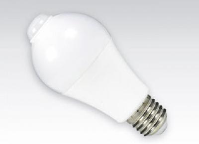 Żarówka LED z czujnikiem ruchu i zmierzchu z Biedronki