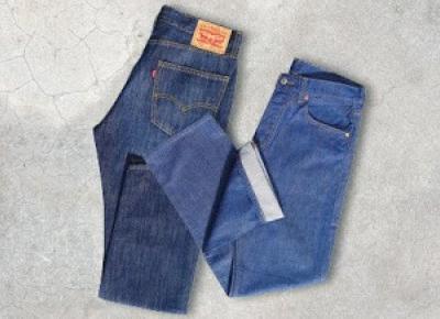 Spodnie jeansowe Levi's z Biedronki
