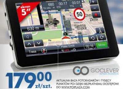 Nawigacja Goclever GC-5070 z Biedronki