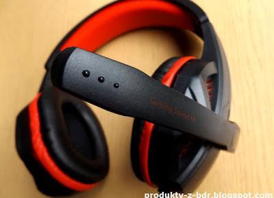 Słuchawki Gaming Sound XR Hykker z Biedronki