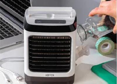 Klimator biurkowy Hoffen z Biedronki
