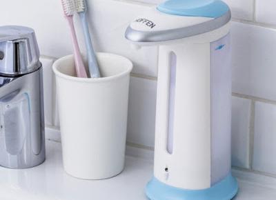 Automatyczny dozownik mydła Hoffen AL-1192 z Biedronki