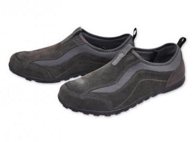 Buty męskie skórzane z Biedronki