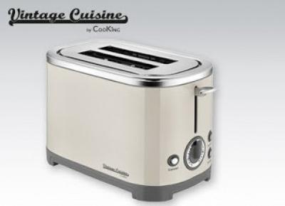 Toster Vintage Cuisine by CooKing z Biedronki