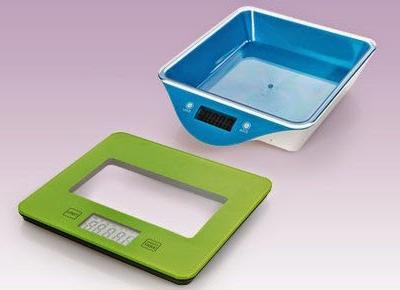 Elektroniczna waga kuchenna z misą lub ze szkła hartowanego z Biedronki