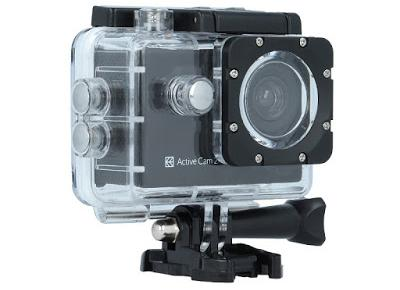 Kamera sportowa Hykker Active Cam 2 z Biedronki