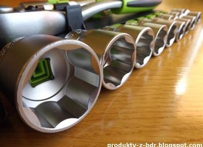 Klucz nasadowy Niteo Tools z Biedronki