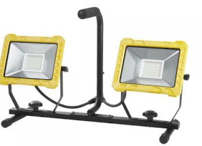 Co w Lidlu: Lampa robocza LED 2 x 30 W Powerfix z Lidla