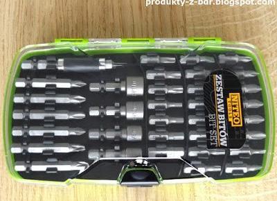 Testujemy produkty z Biedronki: Zestaw bitów Niteo Tools z Biedronki