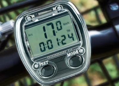 Licznik rowerowy z Biedronki