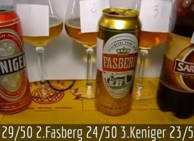 Wielki test piwa z Biedronki - Tomasz Kopyra