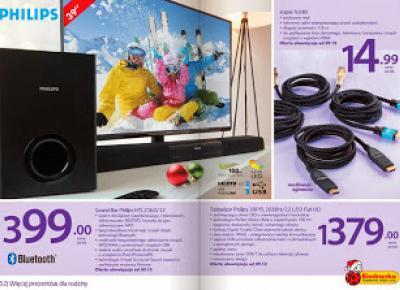 Sound Bar Philips HTL2160/12 z Biedronki