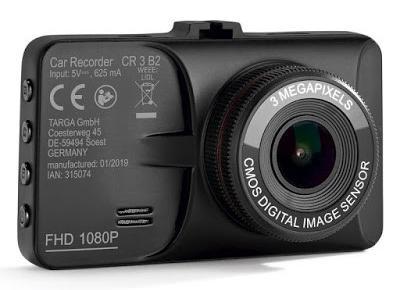 Co w Lidlu: Kamera samochodowa z wyświetlaczem 2,9