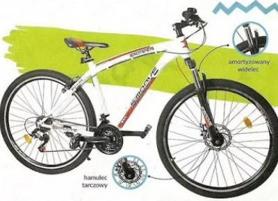 Rower górski Excite z Biedronki