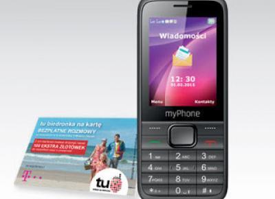 Telefon myPhone 6200 z Biedronki