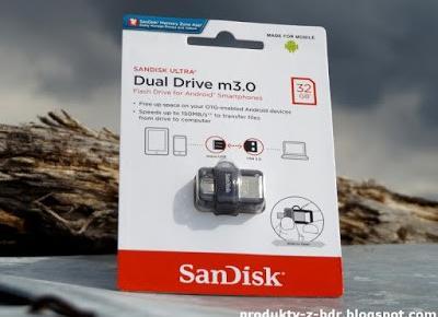 Testujemy produkty z Biedronki: Pendrive Sandisk Ultra Dual Drive m3.0 32 GB USB 3.0 OTG z Biedronki