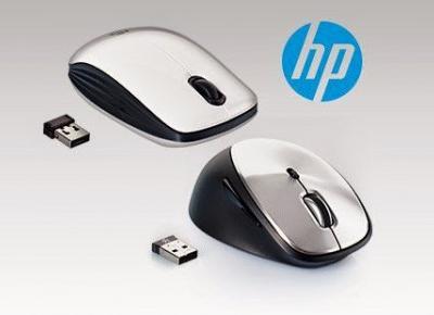 Bezprzewodowa mysz HP X6000 lub HP Z3200 z Biedronki