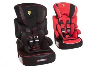 Fotelik samochodowy Ferrari Beline z Biedronki