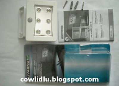 Co w Lidlu: Zewnętrzna lampka LED z czujnikiem LivarnoLux z Lidla