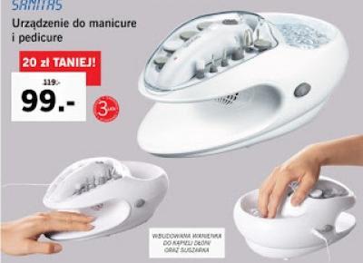 Co w Lidlu: Urządzenie do manicure i pedicure Sanitas z Lidla