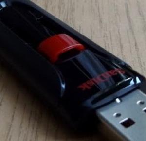 Test: Pendrive SanDisk USB 2.0 Cruzer Glide 32GB z Biedronki