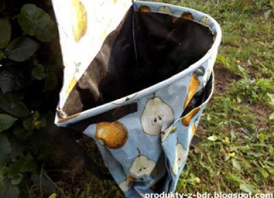 Fartuch ogrodowy z torbą Gardenic z Biedronki