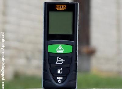 Testujemy produkty z Biedronki: Dalmierz laserowy Niteo Tools z Biedronki