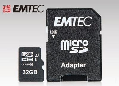 Karta pamięci EMTEC micro SDHC 32 GB z Biedronki