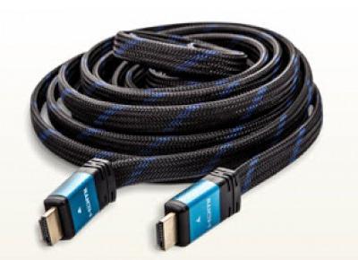 Płaski przewód HDMI 5 metrów z Biedronki